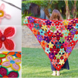 Wonderful DIY Crochet Hawaiian Flower With Free Pattern