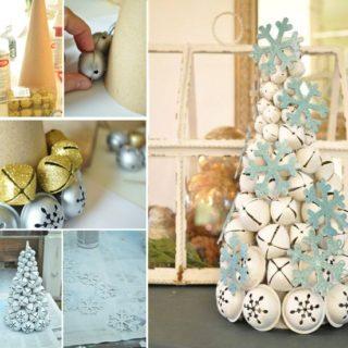 Wonderful DIY Cute Jingle Bell Christmas Tree