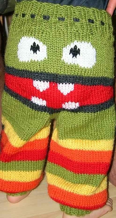 Knitted-Monster-Pants free pattern 3