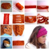 Wonderful DIY Unique Knitted Headband