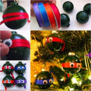 Wonderful DIY Cute Ninja Turtle Ornaments