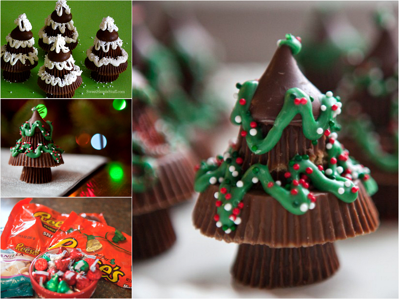 Peanut Butter Christmas Trees recipe F Wonderful DIY Sweet Peanut Butter Christmas Tree