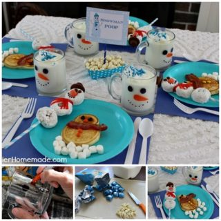 Wonderful DIY Cute Snowman Breakfast for Kids
