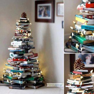 Wonderful DIY Stunning  Book Christmas Tree