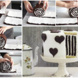 Wonderful DIY Amazing Chocolate Stripe Cake
