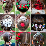 11 Wonderful and Cute Christmas Hairstyles