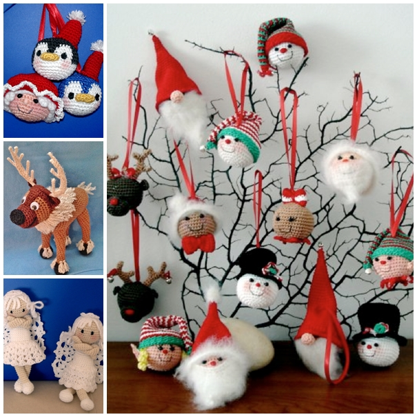 crochet Christmas Ornaments3 Wonderful DIY Cute Crochet Bell Ornaments