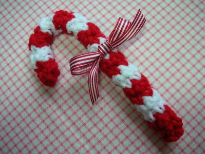 crochet Christmas ornaments 6