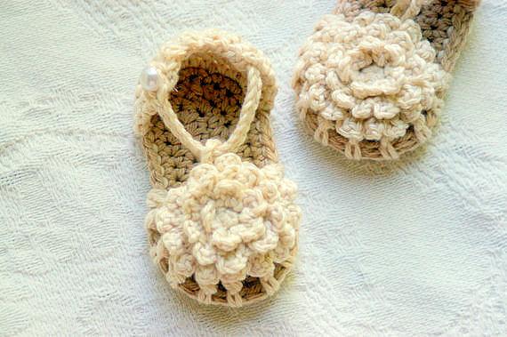 crochet baby booties 4