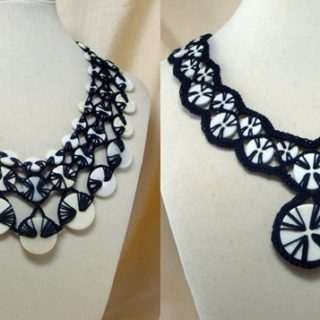 Wonderful DIY Stunning Crochet Button Necklace