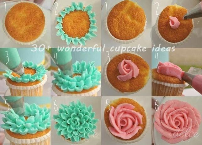 Fish Cupcake Cake Pinterest