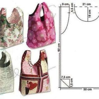 Wonderful DIY Easy Tote Bag