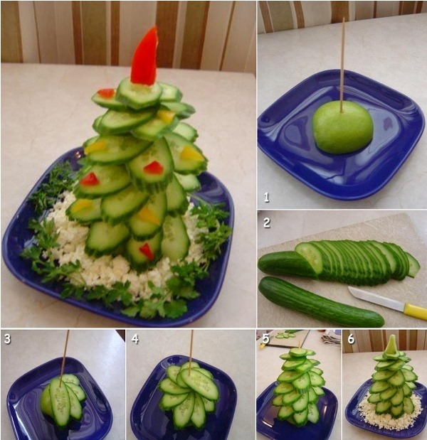 edible Christmas Tree1 Wonderful DIY Food Christmas Tree