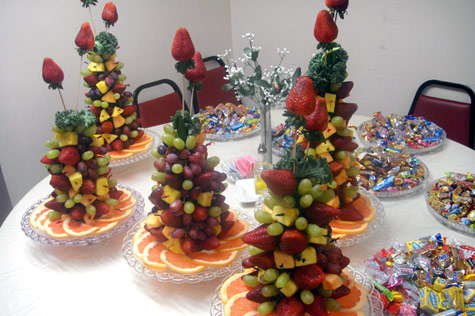 fruit xmas tree instructions