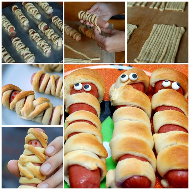 hot dog mummy F Wonderful DIY Yummy Hot Dog Mummy