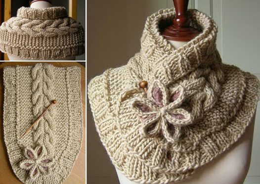 wonderful diy pretty knitted scarf with free pattern