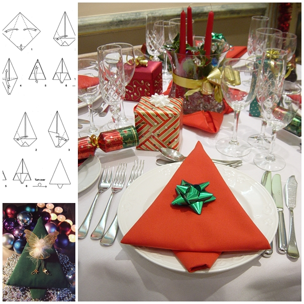 napkin Christmas Tree DIY F2 Wonderful DIY Tasteful Napkin Christmas Tree