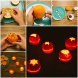 Wonderful DIY Beautiful Orange Rind Votives
