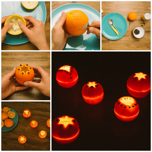 orange rind votives F Wonderful DIY Beautiful Orange Rind Votives