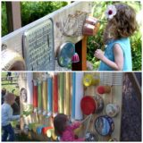 Wonderful DIY Outdoor Music Wall / Station For Kids