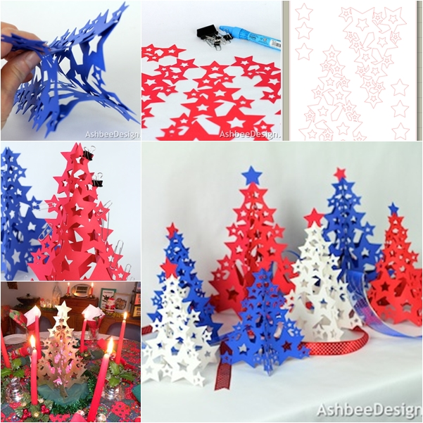 3d Paper Christmas Tree Template.Wonderful Diy 3d Paper Christmas Tree