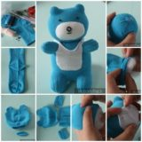 Wonderful DIY Cute Sock Teddy Bear