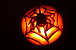 spider_pumpkin carving