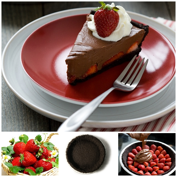 strawberry chocolate pie F Wonderful DIY No Bake Strawberry Chocolate Pie