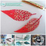 Wonderful DIY Handmade Yarn Feather and Bird