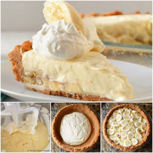 Banana Pudding Cheesecake Wonderful DIY No Bake Banana Caramel Cream Dessert