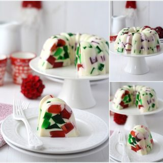 Wonderful DIY Christmas Broken Glass  Jello