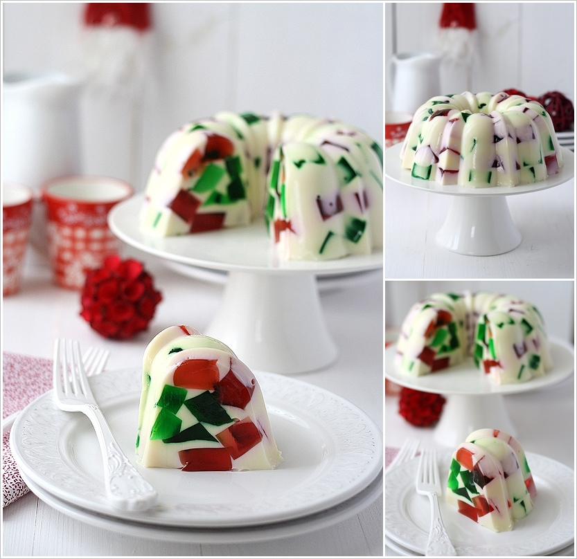 Broken Glass Christmas Jello wonderfuldiy F Wonderful DIY Christmas Broken Glass  Jello