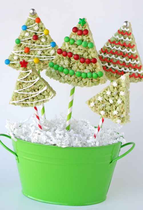 Chistmas-Tree-Rice-Krispies DIY 2