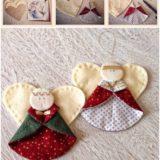 Wonderful DIY Cute Christmas Angel Ornaments