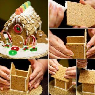 Wonderful DIY Christmas Cracker Cottage