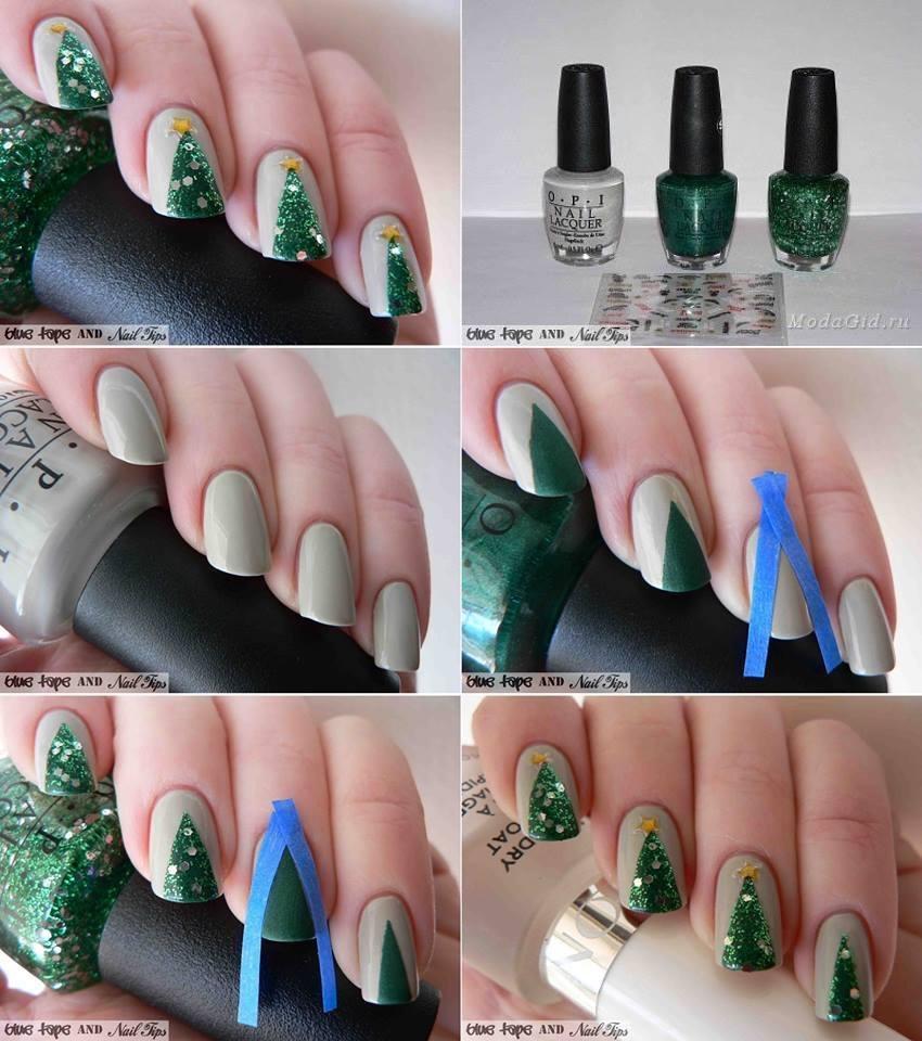 ... Christmas-Nail-Art 25 - 36 Wonderful Christmas Nail Art Designs