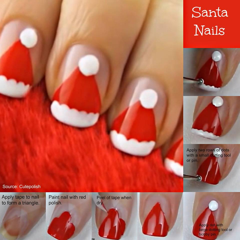 Christmas Nail Designs Tutorial: 36 Wonderful Christmas Nail Art Designs