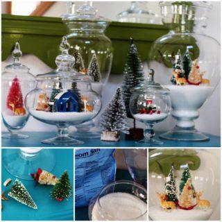 Wonderful DIY Christmas Sparkly Snow  Decoration