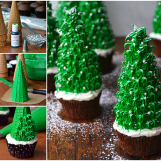 Wonderful DIY Amazing Christmas Tree Cupcake