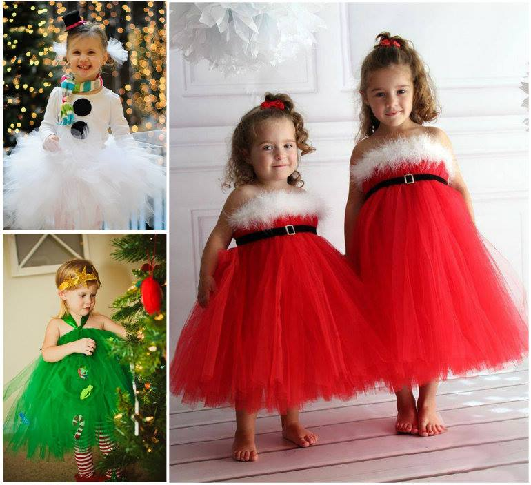 Christmas Tutu dress wonderful DIY Wonderful DIY Christmas Tutu Dress for Your Little Princess