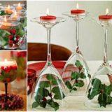 Wonderful DIY Fantastic Wine Glass Centerpieces