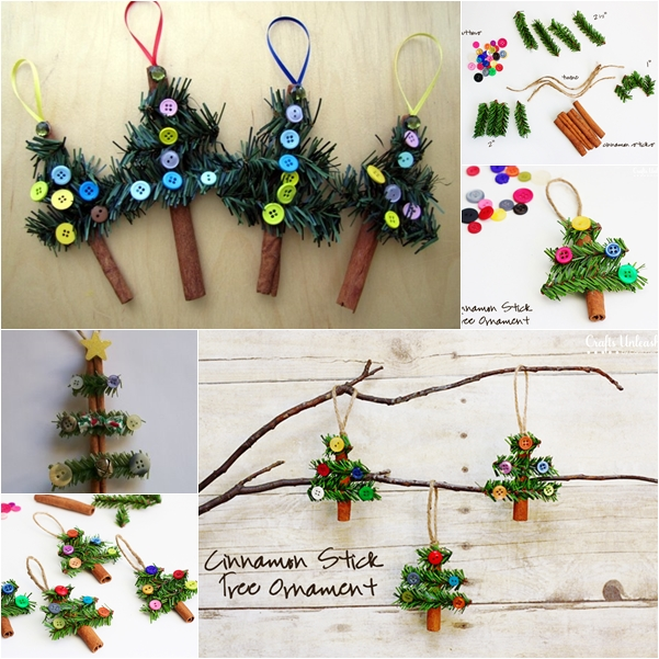 Cinnamon Stick Tree Ornaments F3 Wonderful DIY Cinnamon Stick  Christmas Tree Ornaments