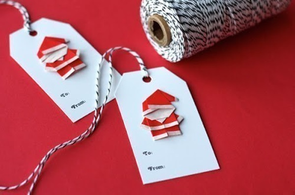 Cute-Origami-Santa-wonderful diy4
