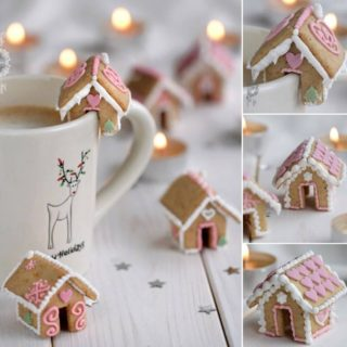 Wonderful DIY Cute Mini Gingerbread House