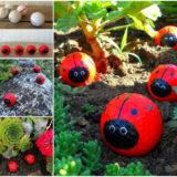 Wonderful DIY Adorable Golf Ball Ladybugs
