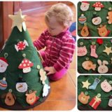Wonderful Kids crafts — DIY Felt Christmas Tree