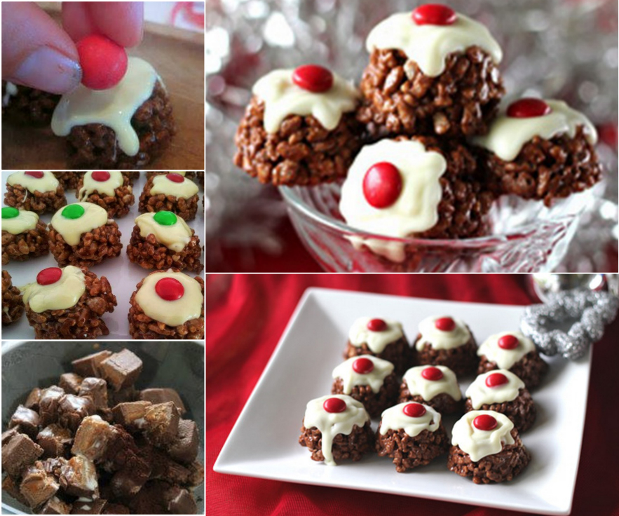 Mars-Bar-Christmas-Pudding-Chocolate-Crackles-WONDERFUL DIY
