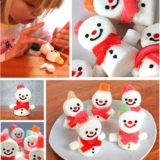 Wonderful DIY Cute Marshmallow Snowman Treats for Christmas