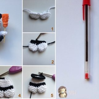 Wonderful DIY Cute Crochet Mini Hello Kitty