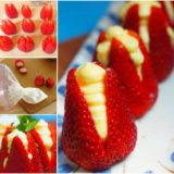 Wonderful DIY No Bake Cheesecake Stuffed Strawberries